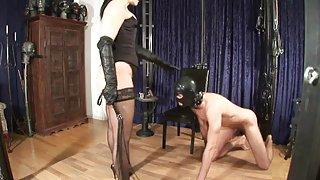 Наказание galena sex video за възбудена роб (chast2)
